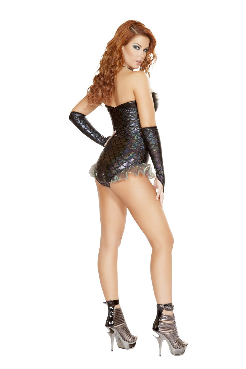 1pc Dark Mermaid Costume