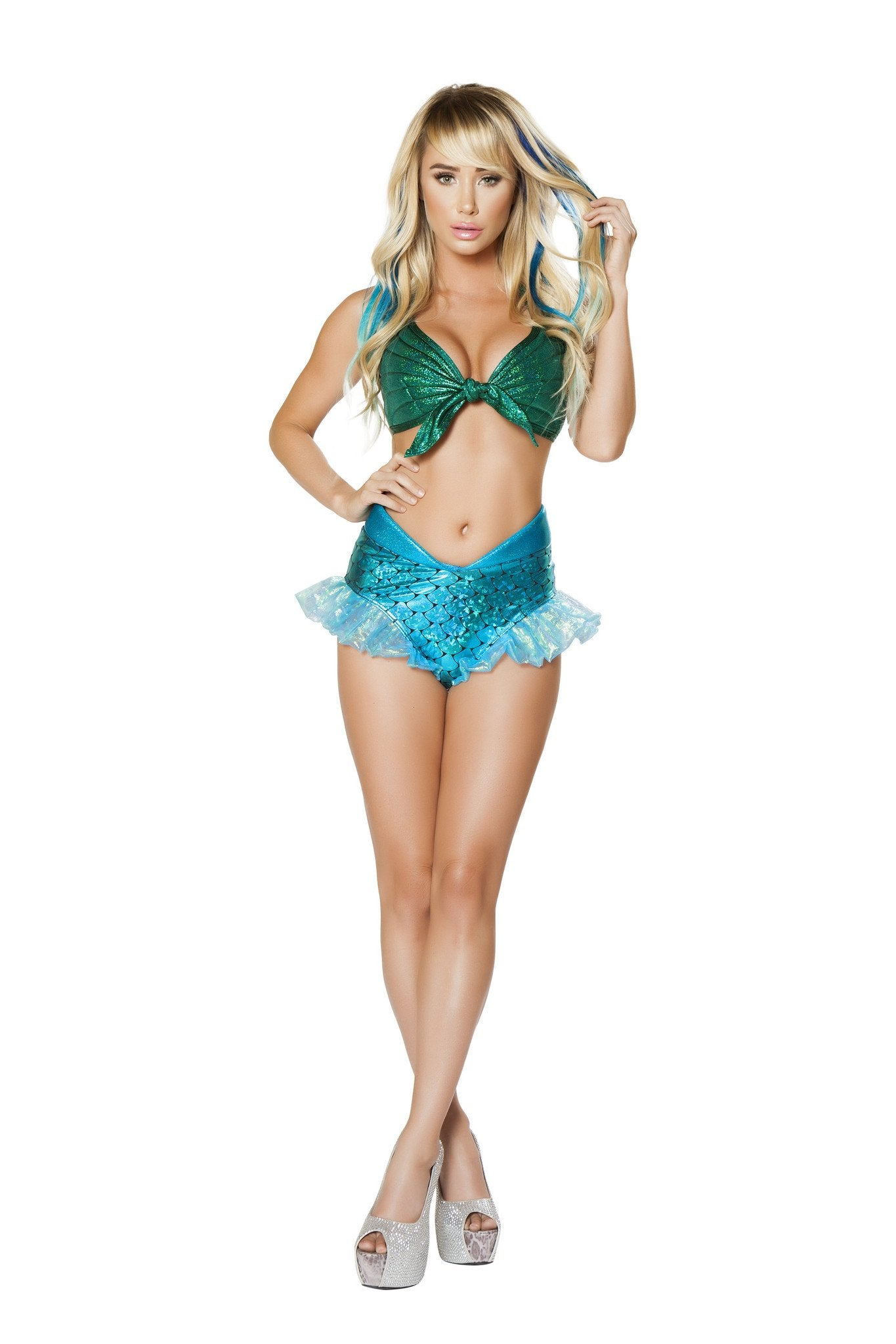 2pc Mermaid Jewel Costume