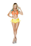 2pc Bright Mermaid Costume
