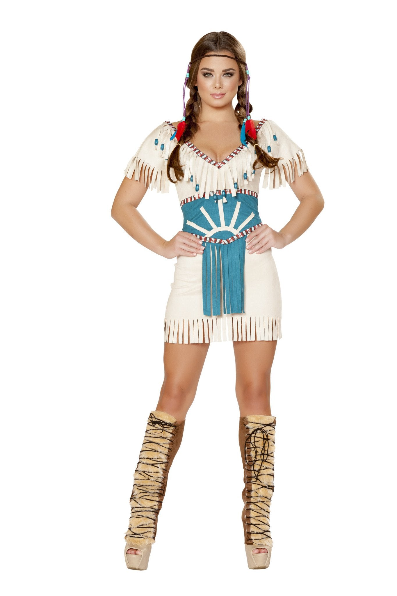 2pc Tribal Babe Costume