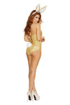 Buy 2pc Golden Bunny from Rave Fix for $69.99 with Same Day Shipping Designed by Roma Costume 4721-AS-S