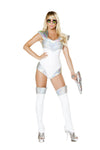 Buy 1pc Space Soldier Costume from Rave Fix for $49.99 with Same Day Shipping Designed by Roma Costume 4739-AS-S