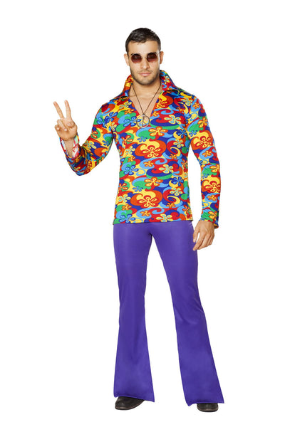 Buy 4750 - 2pc Men's Make Love, Not War from Rave Fix for $52.50 with Same Day Shipping Designed by Roma Costume 4750-AS-S