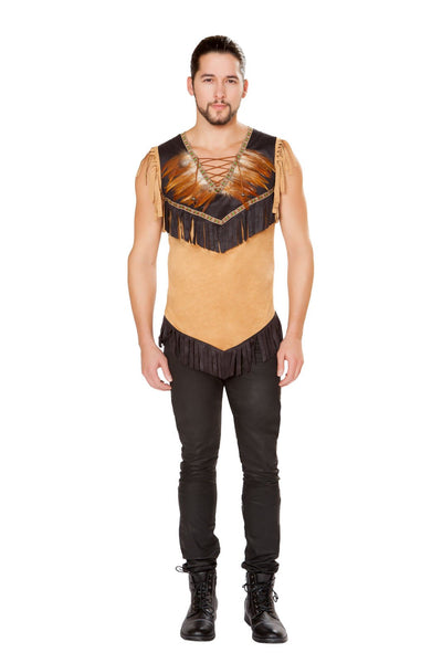 Buy 4797 - 1pc Men's Native Indian from Rave Fix for $33.75 with Same Day Shipping Designed by Roma Costume 4797-AS-S
