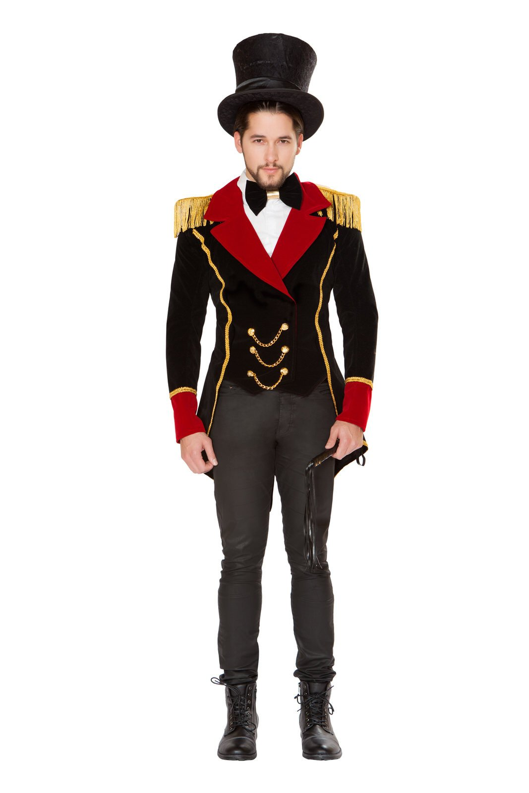 Buy 4820 - 3pc Men's Ringmaster from Rave Fix for $75.00 with Same Day Shipping Designed by Roma Costume 4820-AS-S