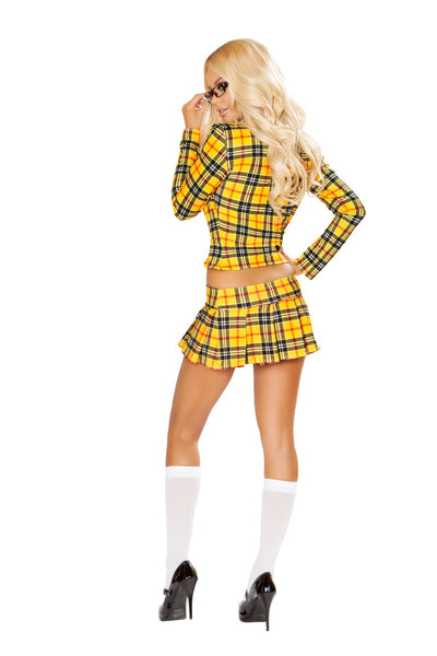 Buy 4830 - 3pc School Girl without a Clue from Rave Fix for $52.50 with Same Day Shipping Designed by Roma Costume 4830-AS-S/M