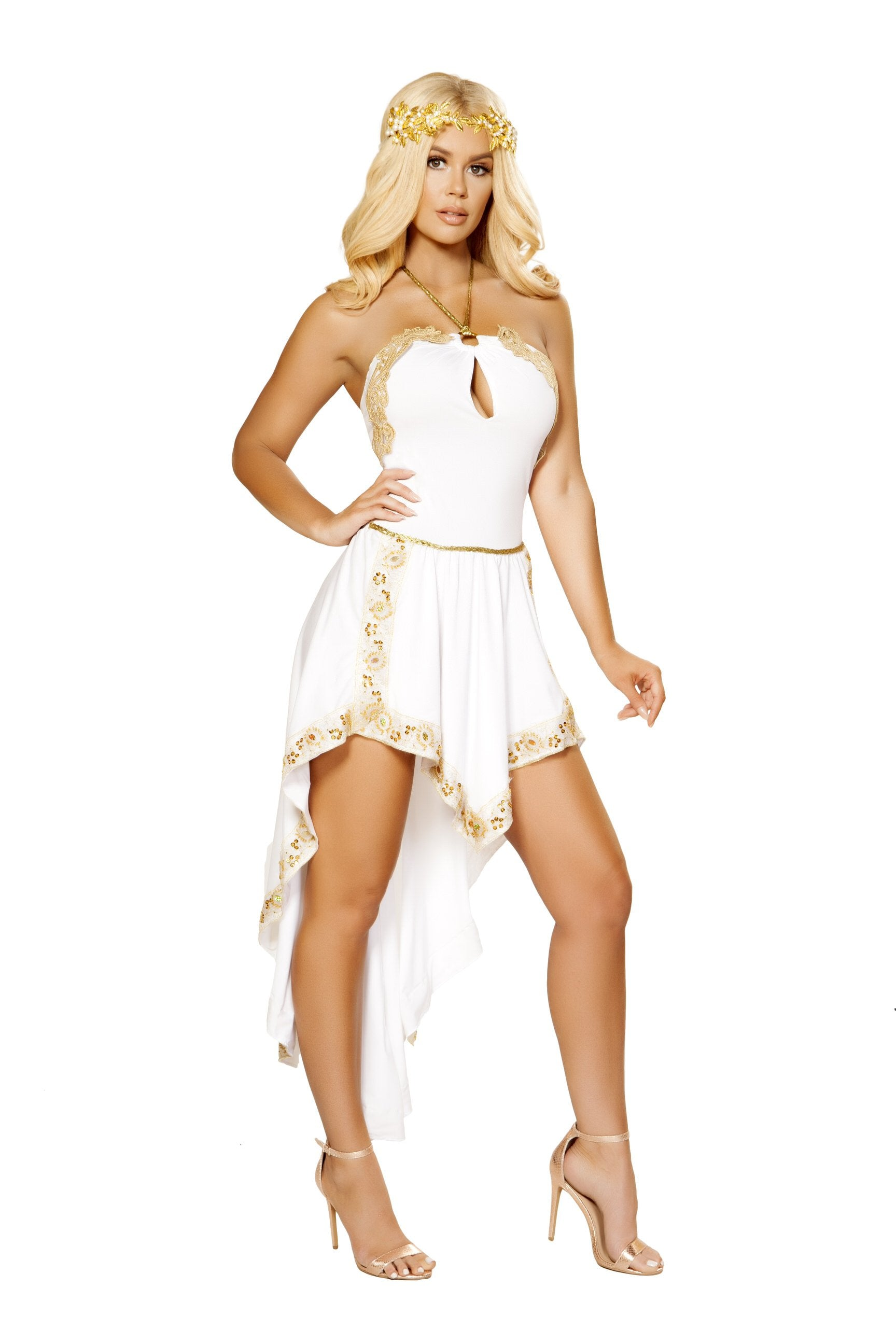 Buy 1pc Golden Goddess from Rave Fix for $79.99 with Same Day Shipping Designed by Roma Costume 4877-AS-S