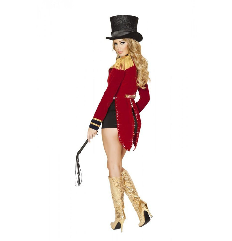 Buy 4518 - 6pc Seductive Circus Leader Costume from Rave Fix for $180.00 with Same Day Shipping Designed by Roma Costume 4518-AS-S