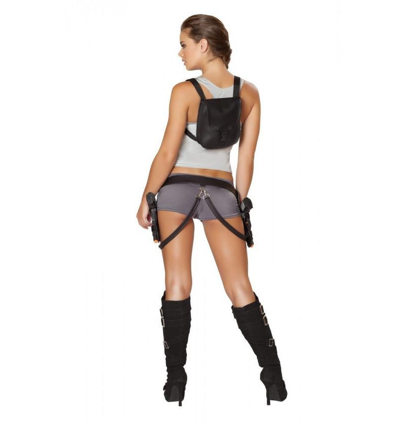 Roma Halloween Treasure Huntress Tomb Raider Costume
