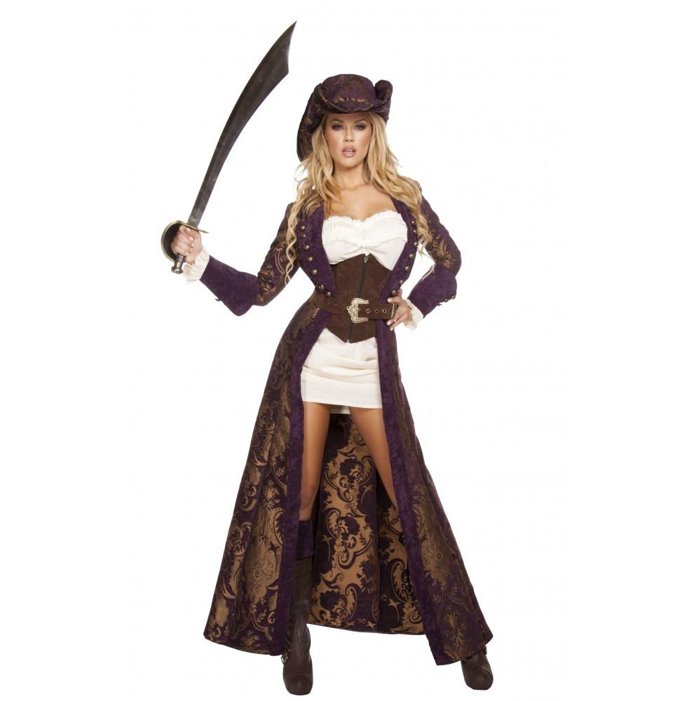 Buy 4574 - 6pc Decadent Pirate Diva from Rave Fix for $180.00 with Same Day Shipping Designed by Roma Costume, Inc. 4574-AS-S