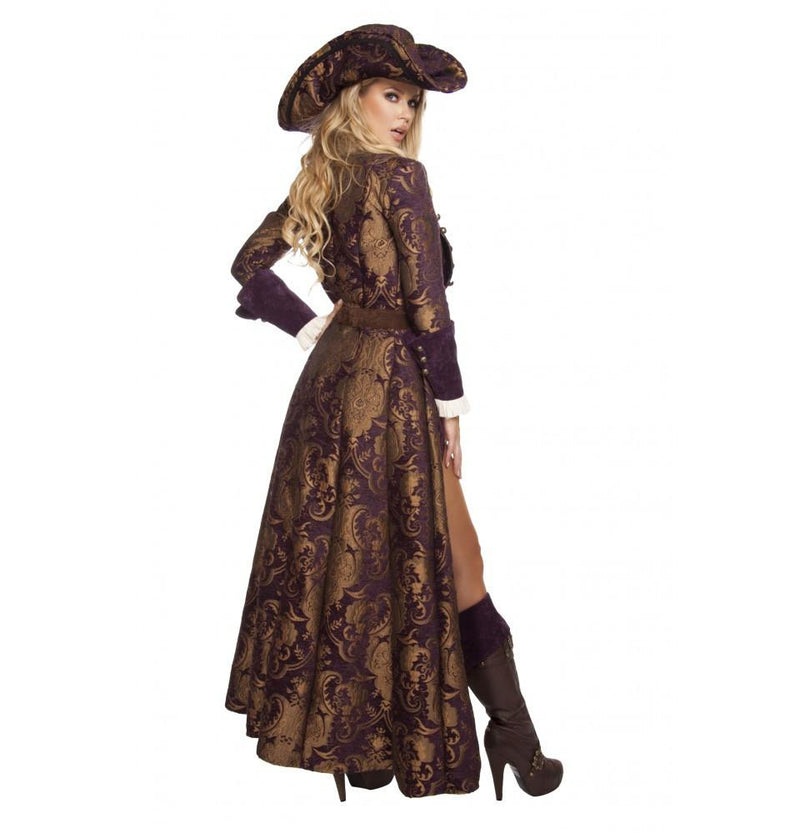 6pc Decadent Pirate Diva Costume