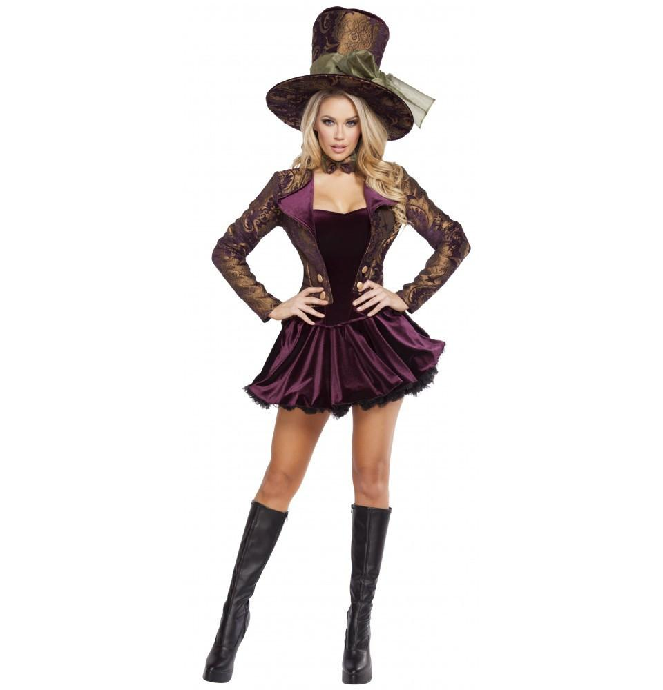 4610 5pc Tea Party Vixen - Roma Costume New Arrivals,New Products,Costumes - 1