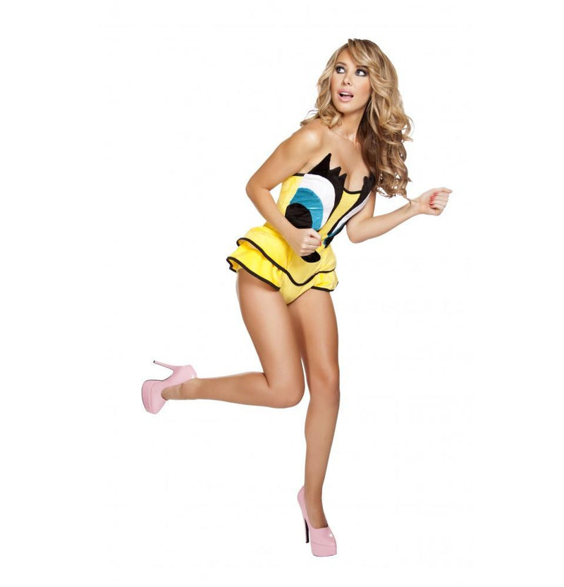 Buy 1pc Canary Cutie from Rave Fix for $34.99 with Same Day Shipping Designed by Roma Costume, Inc. 4625-AS-S