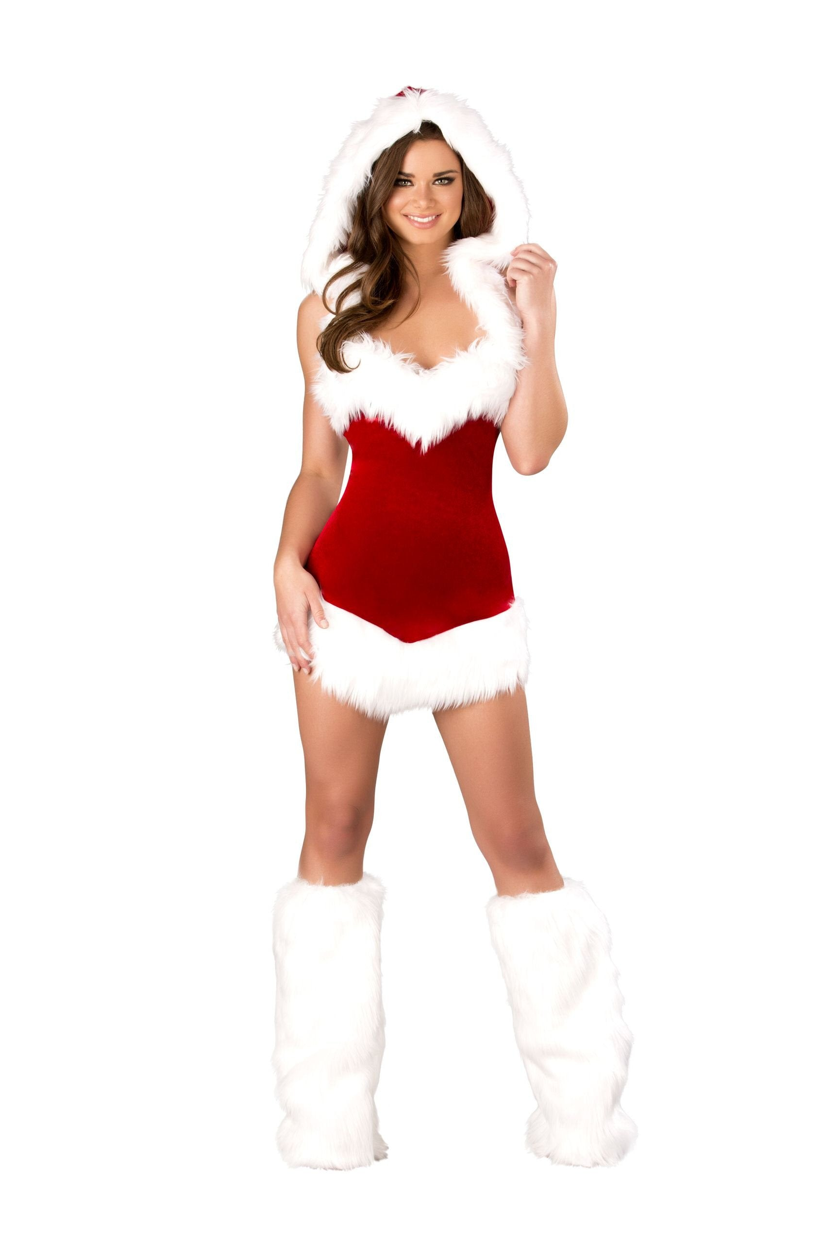 Buy C163 - 1pc Christmas Beauty from Rave Fix for $56.25 with Same Day Shipping Designed by Roma Costume C163-AS-S/M