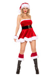 Rave Fix Christmas Santa's Cutie 1pc Dress with Faux Fur Trim. Sexy Santa outfit. Sassy Santa Costume. Christmas Shopping. Free Shipping