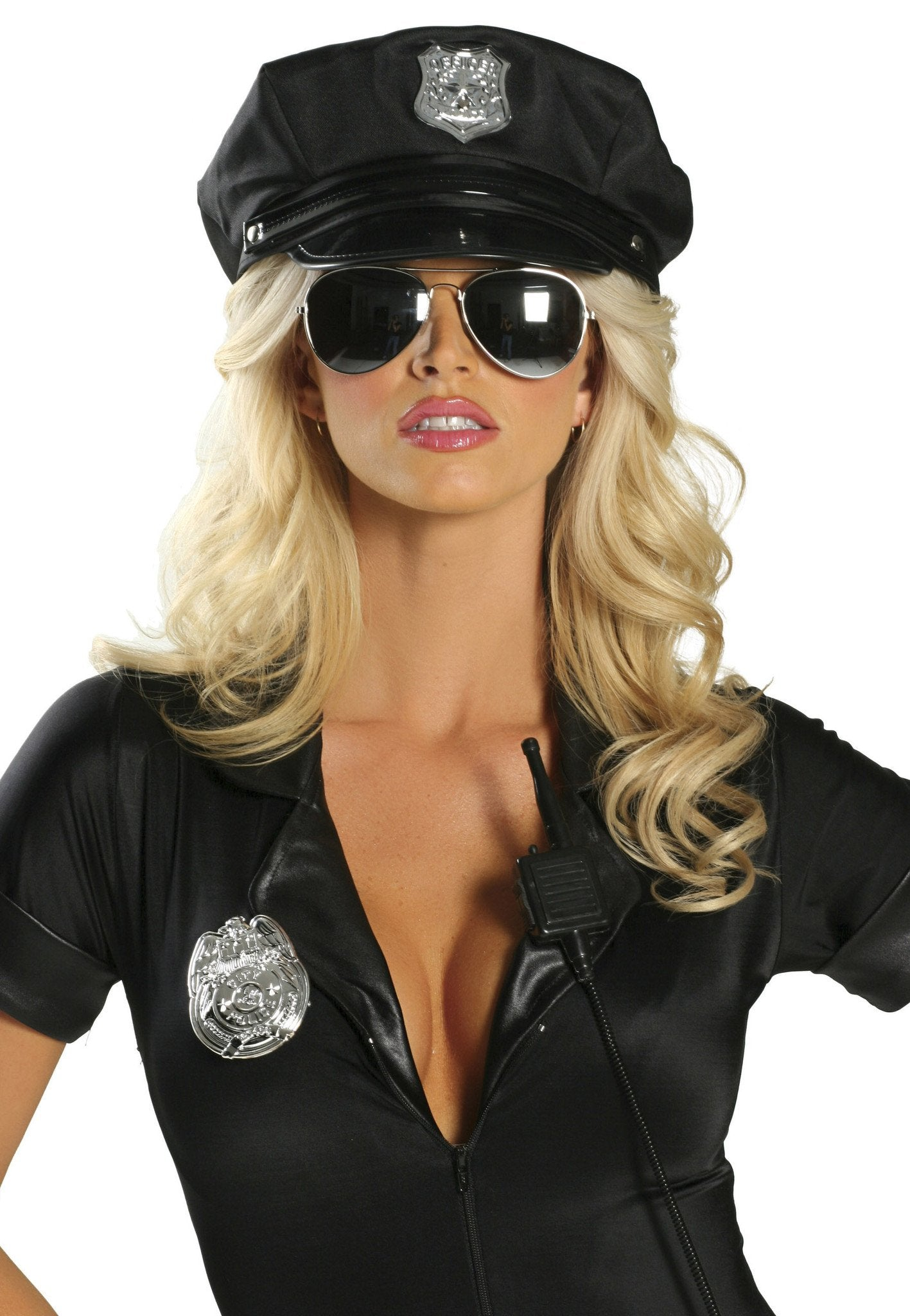 Buy CH105 - Police Hat from Rave Fix for $7.50 with Same Day Shipping Designed by Roma Costume CH105-AS-O/S