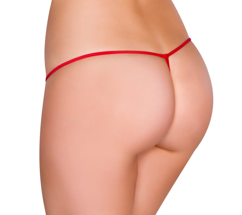 Buy GString from Rave Fix for $8.00 with Same Day Shipping Designed by Roma Costume GString-Blk-O/S