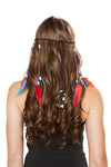 Buy H4726 - Brown Indian Headband from Rave Fix for $7.50 with Same Day Shipping Designed by Roma Costume H4726-Brown-O/S