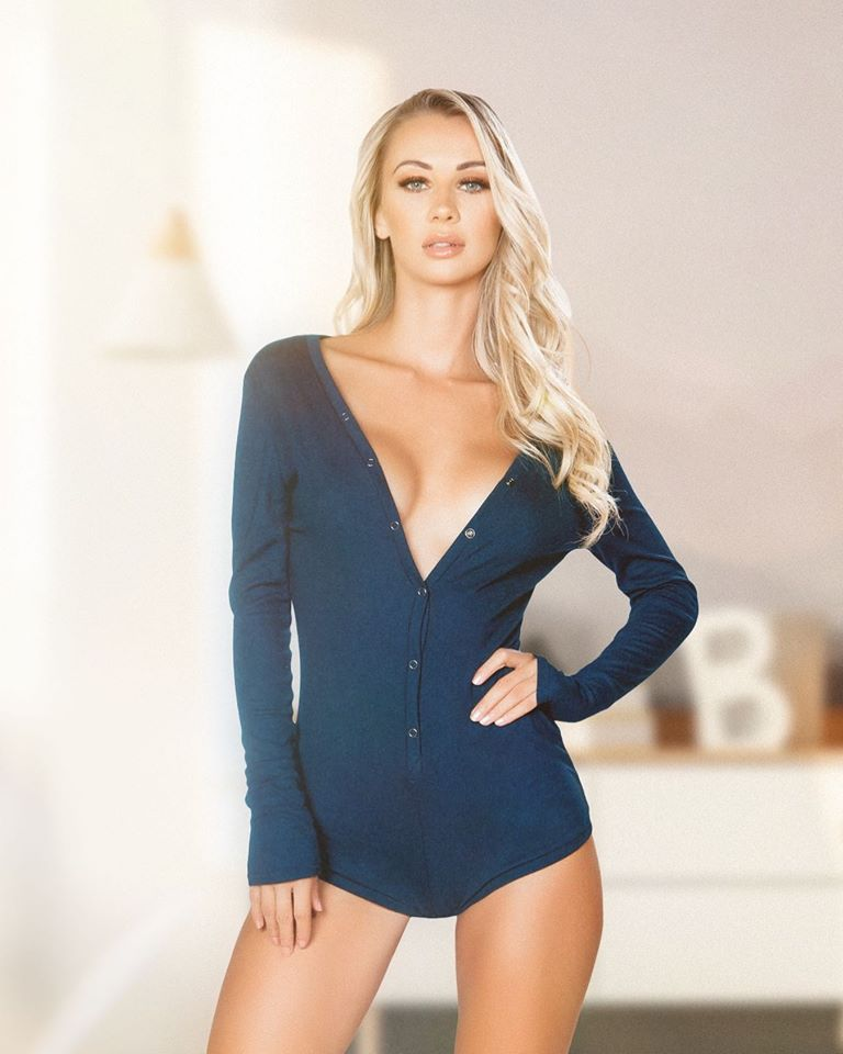 Buy Cozy and Comfy Sweater Pajama Romper from Rave Fix for $23.99 with Same Day Shipping Designed by Roma Costume LI211-Blk-S/M