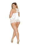 Buy Elegant Pajama Set from Rave Fix for $34.99 with Same Day Shipping Designed by Roma Costume LI225-Blk-S/M