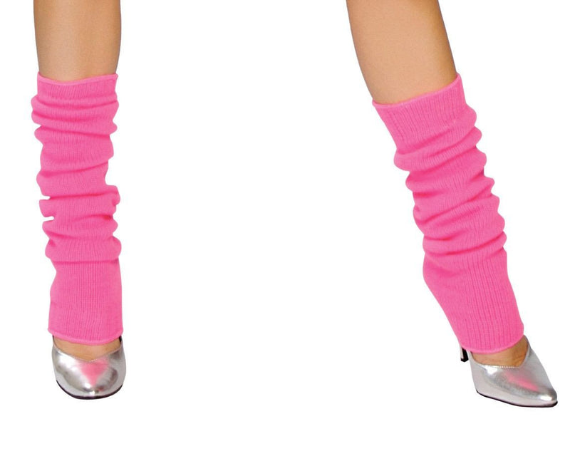 Buy Pair of Solid Leg Warmers from Rave Fix for $3.99 with Same Day Shipping Designed by Roma Costume, Inc. LW101-Wht-O/S