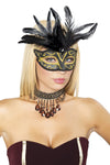 Buy Masquerade Mask from Rave Fix for $7.50 with Same Day Shipping Designed by Roma Costume M4308-AS-O/S
