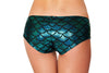 Buy SH3263 - Mermaid Shorts from Rave Fix for $16.00 with Same Day Shipping Designed by Roma Costume SH3263-Blue/Blk-O/S