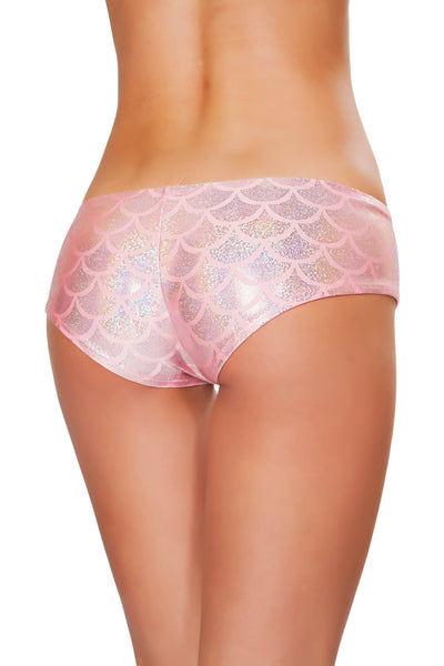 Buy SH3263 - Mermaid Shorts from Rave Fix for $16.00 with Same Day Shipping Designed by Roma Costume SH3263-Pink-O/S