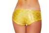 Buy SH3263 - Mermaid Shorts from Rave Fix for $16.00 with Same Day Shipping Designed by Roma Costume SH3263-Yellow-O/S