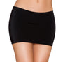 "Buy Lycra 10.5"" Mini Skirt from Rave Fix for $8.25 with Same Day Shipping Designed by Roma Costume SK105-Blk-O/S"