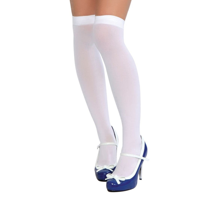 Buy Thigh High Stockings from Rave Fix for $3.00 with Same Day Shipping Designed by Roma Costume STC201-BLK-O/S