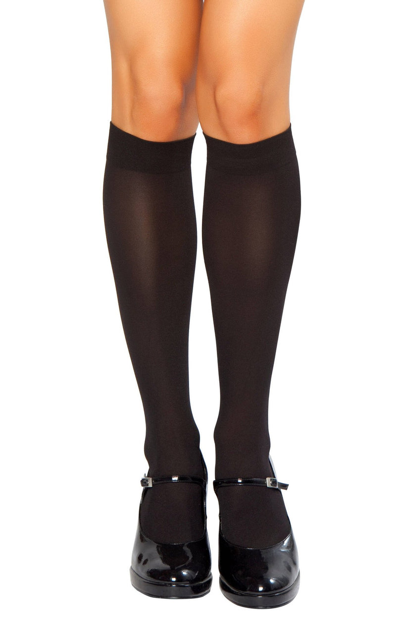 Buy Knee High Stockings from Rave Fix for $2.70 with Same Day Shipping Designed by Roma Costume STC202-BLK-O/S