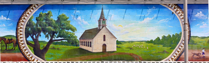 Downtown Cranfills Gap Historic Mural