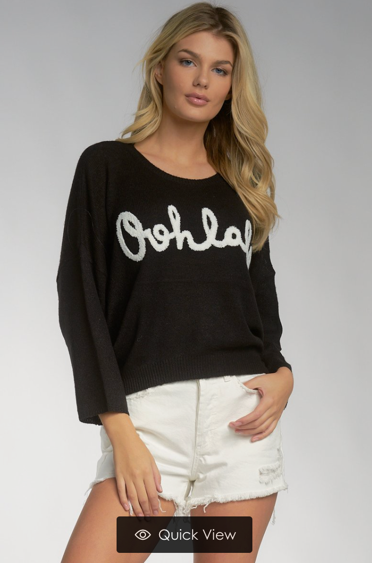 OOHLALA Sweater