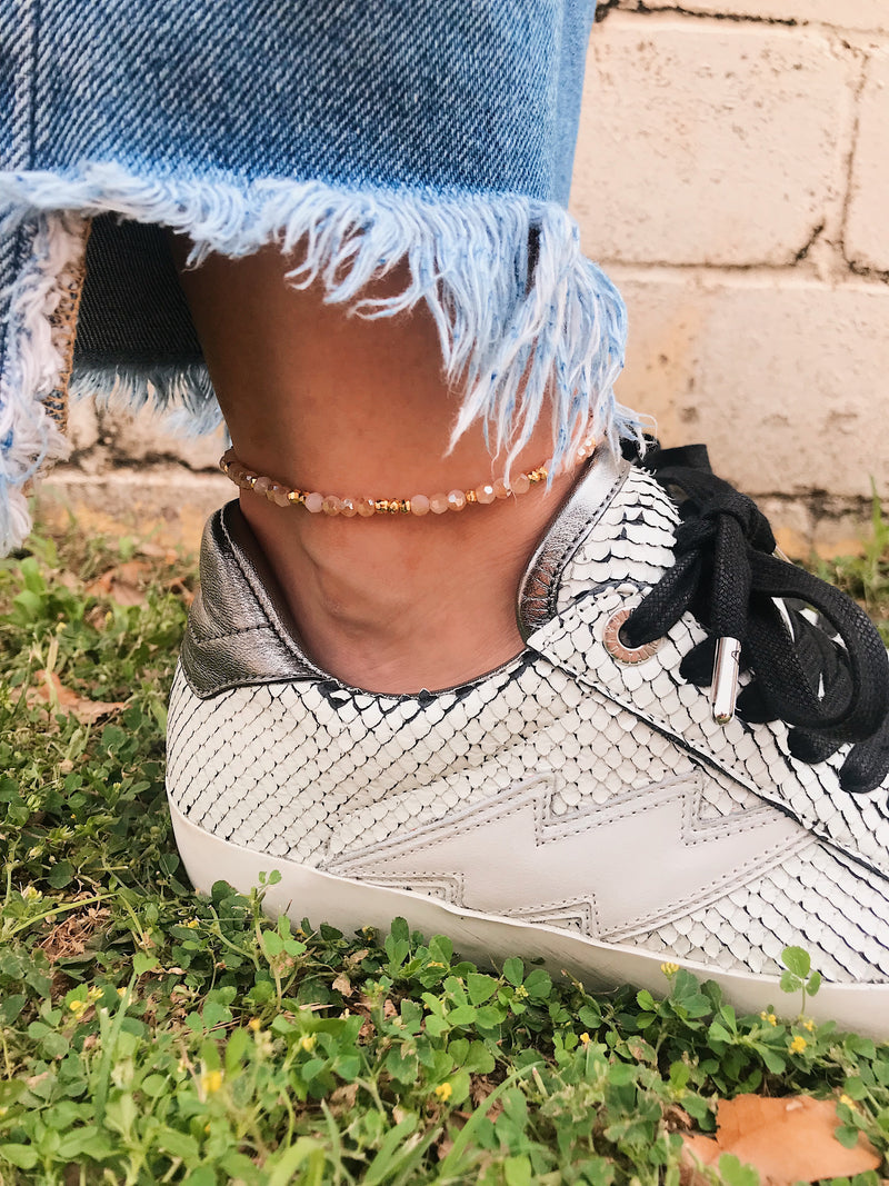 Anklet // Beaded