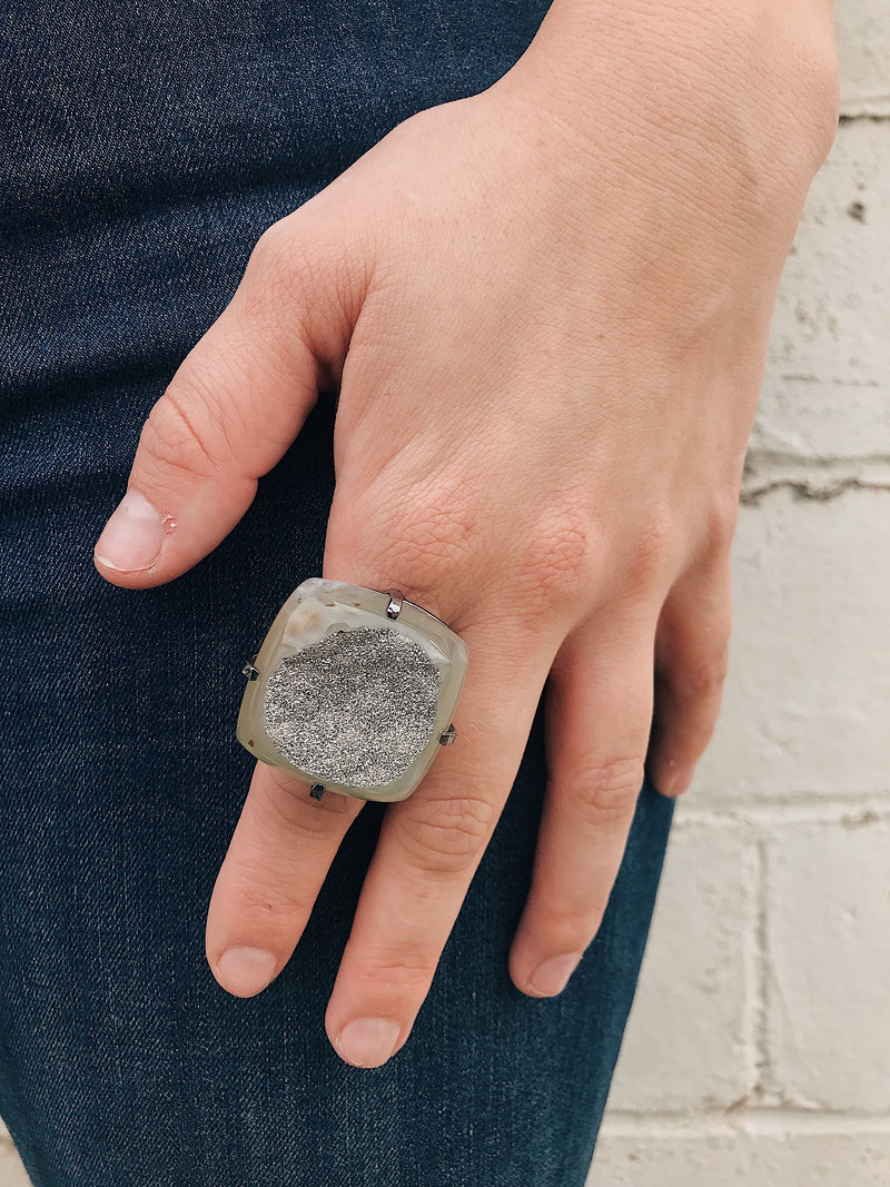 Brazilian Ring // Gunmetal