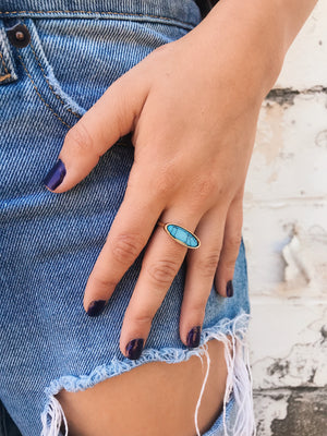 Dainty Rings // Turquoise