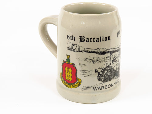 US Army 6th Battalion 1st Field Artillery Mug