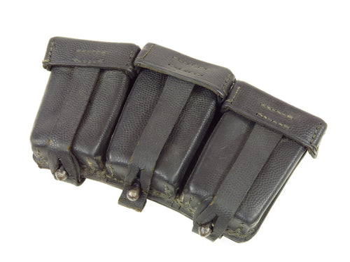 WWII German Leather Mauser Ammo Pouches