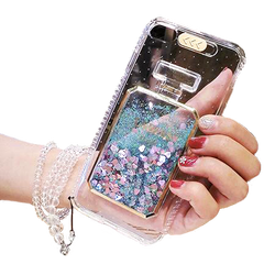 Glitter Perfume Bottles iPhone Case