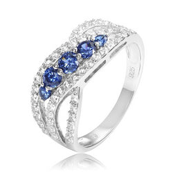 Lady Tanzanite Engagement Ring