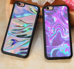 Luxury Iridescent Holographic iPhone Case