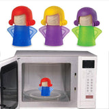 Angry Mama Cleaning  Microwave Oven Gadget