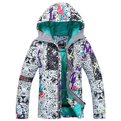 Snow Leopard Lady Ski Jacket