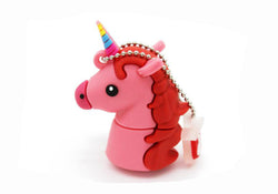 Flash Drive Unicorn Inspired Pink