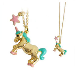 Necklace Japan Style Unicorn Pendant | Unicorn Trend-1