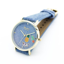 Watch Lady Unicorn Pineapple Denim | Unicorn Trend-1