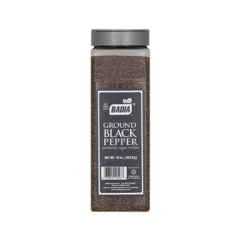 Gluten-Free Ground Black Pepper