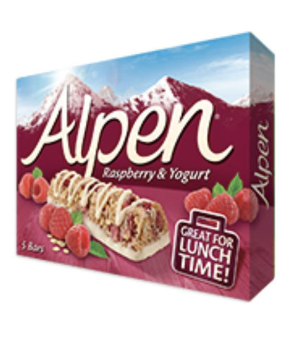 Alpen Bar Raspberry & Yogurt