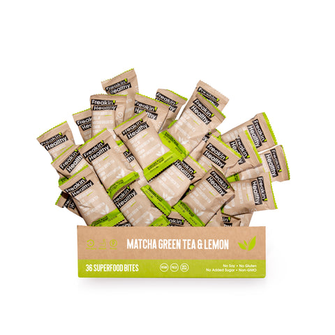 Matcha Green Tea & Lemon Superfood Nutrition Bites